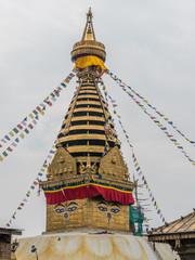 Swayambhunath Stupa in Kathmandu Nepal