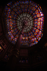 Old State Capitol - Stained Glass Ceiling