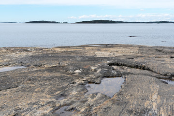 Rocks and Seaview, Finland