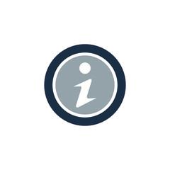 Information System Logo Icon Design