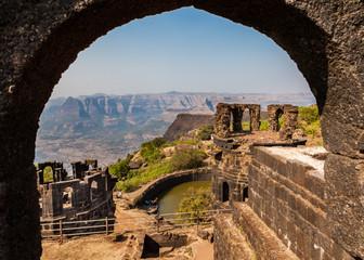 Raigad Fort, Maharastra, Indien