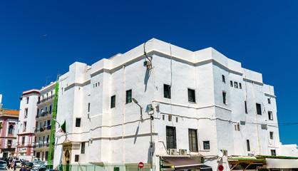 Foto op Aluminium Algerije Moorish Revival architecture in Algiers, Algeria
