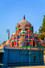 Fotomurales - Temple of Sri Ranganathaswamy in Trichy.