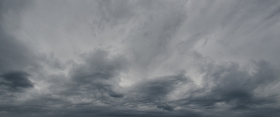 STORM CLOUDS - Natural phenomena in the sky