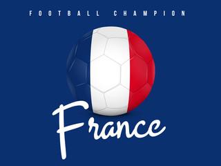 FRANCE - CHAMPION FOOTBALL