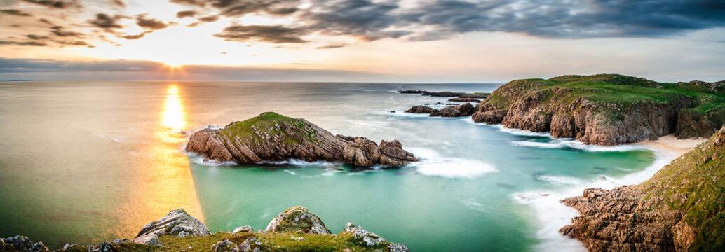 Panorama in Ireland