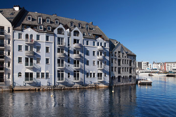 Jugendstil Waterfront in Alesund