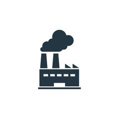 Factory icon. Simple element illustration