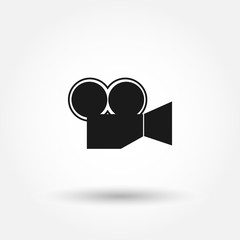 video-camera icon. Can be used for web and mobile.