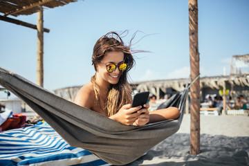 Young Woman Enjoying Summertime