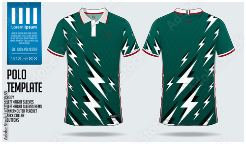 d51a9e8b63f Mexico Team Polo t-shirt sport template design for soccer jersey, football  kit or