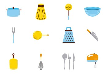 20 Kitchen Icons
