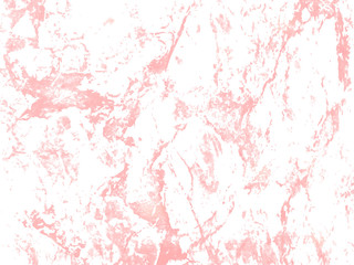 Vector marble rose gold background.  Marbling Texture design for