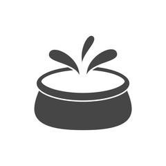 Swimming pool logo, Pool icon