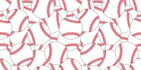 baseball Seamless pattern tennis ball vector tile background wallpaper scarf isolated graphic