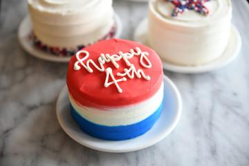 Patriotic cakes