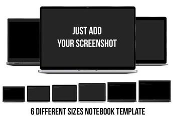Laptop Mockup Set