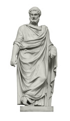Printed roller blinds Historic monument Statue of great ancient Greek philosopher Plato