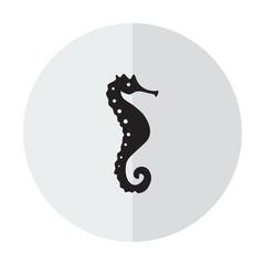 Vector icon seahorse