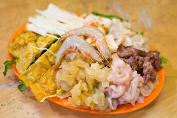 Malaysian steamboat seafood set