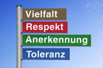 Werte zur Stärkung eines achtsamen sozialen Handelns