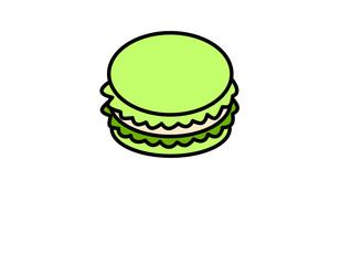マカロン(緑)