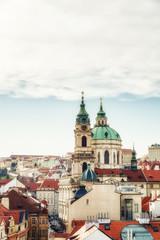 St. Nicholas Church in Mala Strana district of Prague