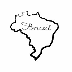the Brazil map