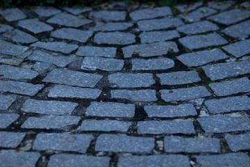 Stone floor patern