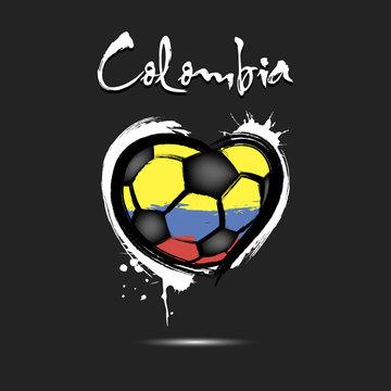 4544 - Switzerland heart soccer