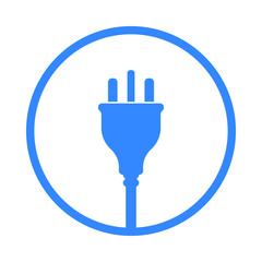 UK Electric Plug icon, symbol. United Kingdom, Great Britain standart