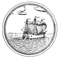 sailing ship #vector #isolated - Segelschiff