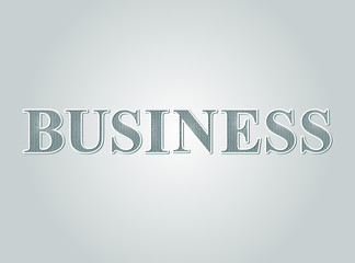 Business concept text guilloche money pattern style