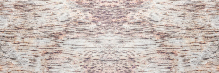 panoramic background of old  wood  plank wall texture.