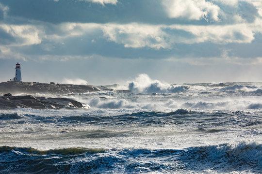 Peggys Cove Lighthouse NS Canada