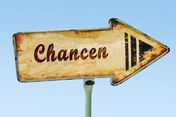 Schild 328 - Chancen