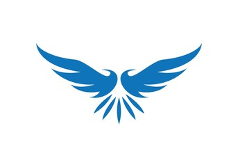 Wing bird Logo Template