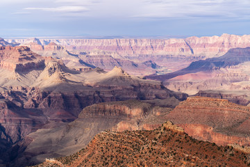 South rim of Grand Canyon
