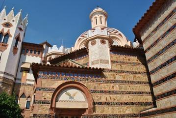 Kościół w Lloret de Mar, Hiszpania
