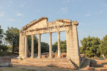 Ruins of Ancient Greek Architecture