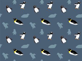 Penguin Wallpaper Vector Illustration 3