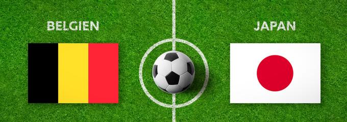 Fußball - Belgien gegen Japan