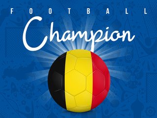 BELGIQUE - CHAMPION FOOTBALL