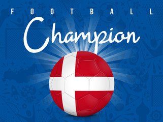 DANEMARK - CHAMPION FOOTBALL