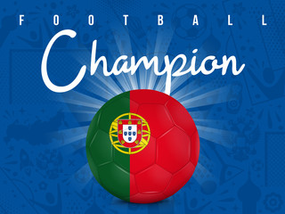 PORTUGAL - CHAMPION FOOTBALL