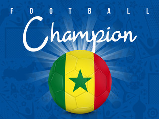 SÉNÉGAL - CHAMPION FOOTBALL