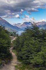 Weg zum Fitz Roy in Patagonien Berg