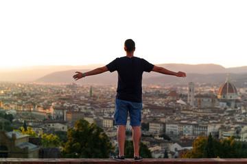 Atardecer Florencia