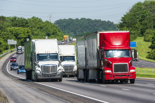 Interstate Traffic in Eastern Tennessee