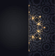 Set of islamic oriental patterns, Seamless arabic geometric ornament collection. Vector traditional muslim background. east culture, indian heritage, arabesque, persian motif, 3D